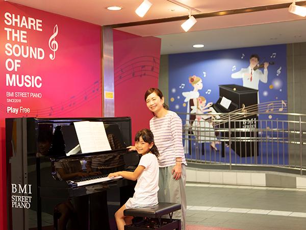 【関内 地下街 マリナード】三世代で楽しむ音楽とアート市開催