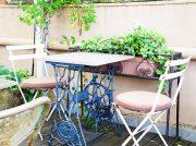 意外なところに屋上ガーデンカフェを発見!吹上「ル・ジャルダン」