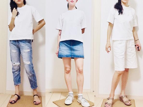 【GU】これはゲットしてほしい!ヘビーウェイトなTシャツが990円