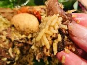【青山一丁目】スリランカの優しい美味しさ「ランプライス」手食で初体験!@スパイシービストロ タップロボーン南青山本店