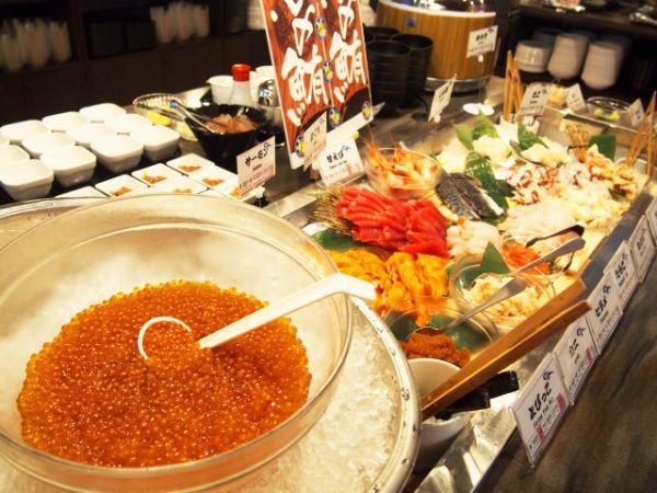 海鮮丼使用