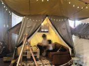 大人気!近場でキャンプ気分!テントでお食事出来るカフェ♪『ogawa GRAND lodge CAFE 小平店』