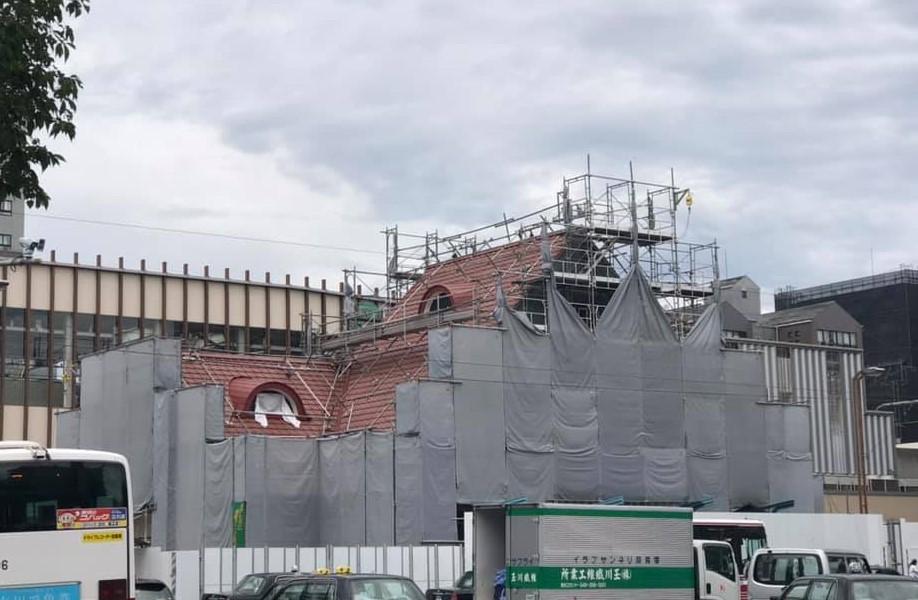 旧国立駅舎201907