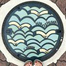 【マンホールさんぽ】涼しげで夏にピッタリ〈広島県広島市〉