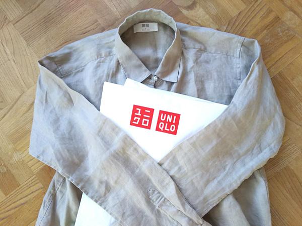 【ユニクロ】プレミアムリネンシャツが半額以下に値下げ中♪