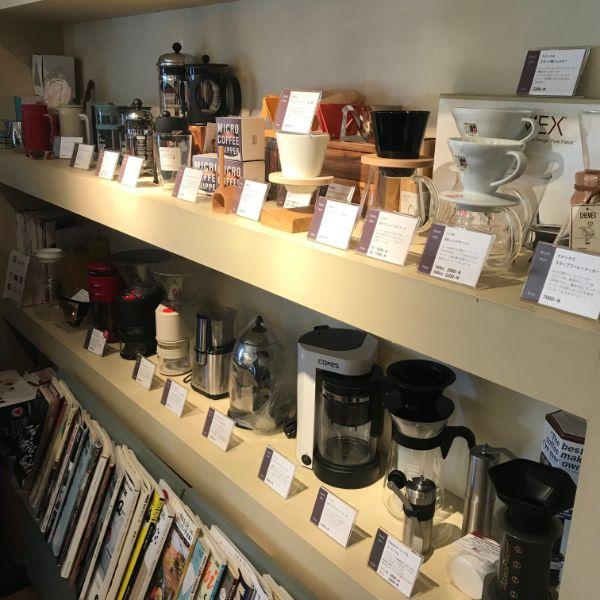 cafeCrema棚コーヒー器具