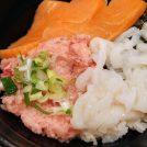 ウニ、イクラ、甘海老、マグロ!!新鮮な魚介モリモリの海鮮丼専門店「若狭家」(大須)