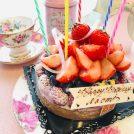 今年の誕生日ケーキはパティスリー ラ・ヴィ・ドゥース@センター北