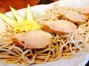 夏季限定!極厚鴨肉をお蕎麦でどうぞ~二、八そば処 蕉風~【六丁の目】