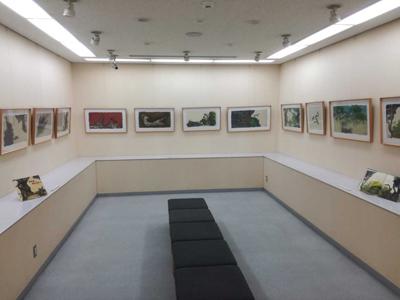 田島征彦さんの絵本原画展(茨木市立中央図書館)