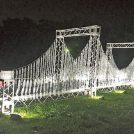【明石】「明石城櫓・石垣のライトアップ」「明石城光のアート」開催中