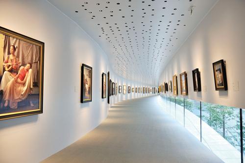 Pホキ美術館内観企画展示室ギャラリー1