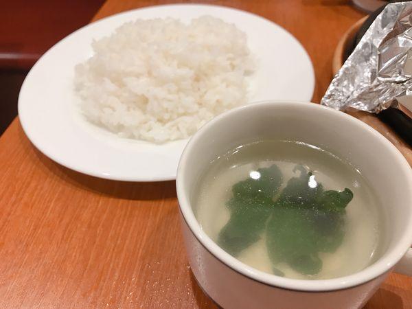 ごはんとスープ