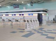 北海道の空の玄関口、新千歳空港国際線出発ロビーを見学。