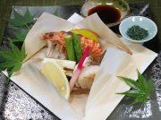 VOL.93瀬戸内魚介と野菜の奉書蒸焼き