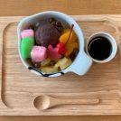 昔懐かしい和菓子屋カフェ@三栄堂菓子舗