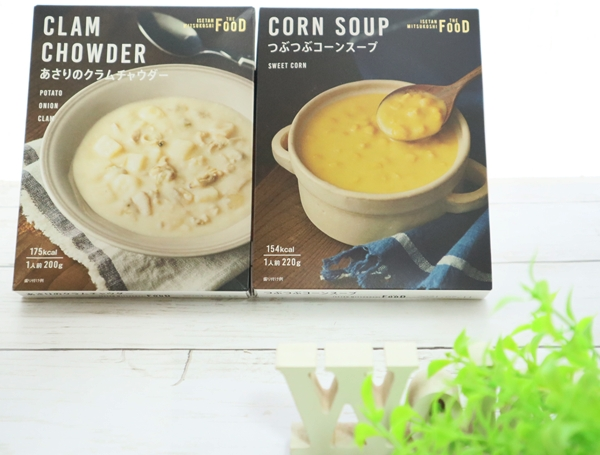 さすがのおいしさ!クイーンズ伊勢丹の「つぶつぶコーンスープ」と「あさりのクラムチャウダー」が激売れ中!