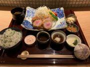 大阪「北新地 串揚げ かな山」がランチスタート!雪室熟成豚のとんかつを味わってきました!