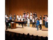 緑区制50周年記念コンサート 東京混声合唱団と中学生合唱団の共演