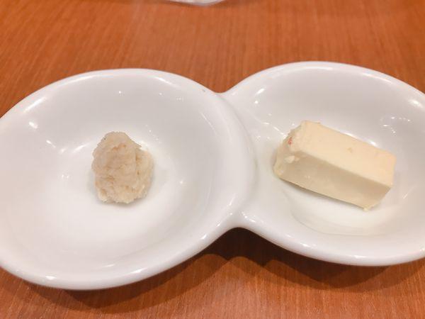 山わさびとクリームチーズみそ
