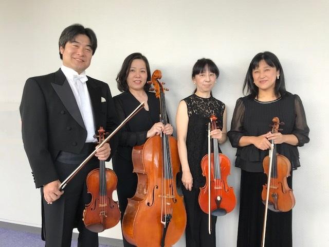 マタニティコンサート岡山ベリウス弦楽四重奏