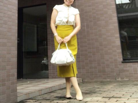 【GU】1,990円でこのクオリティ!秋にぴったり高見えスカート