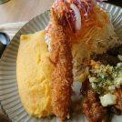 【鹿児島市下竜尾町】食欲の秋にお勧めの定食屋さん。店内のDIYも素敵な「居食や  さんとく」