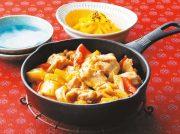 チーズタッカルビ カボチャのナムル