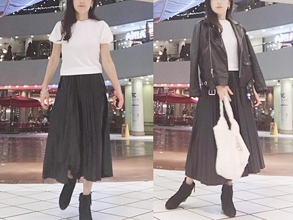 【ZARA】で一目ぼれ!エコでプリーツでフェミニンなスカート