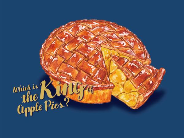 【アップルパイ選手権】各エリアのナンバー1アップルパイを発表します!