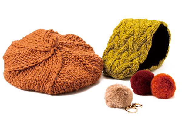 旬を取り入れてワンランクアップ! 色と小物で秋冬ファッションに華やぎを