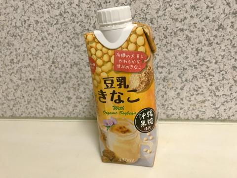 【スジャータめいらく・きなこ豆乳】粉っぽくなくて飲みやすい♫