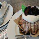 阪急王子公園駅近「神戸齋藤珈琲店」でモンブラン&平日限定120円シュークリームを♪