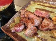リーズナブルすぎ!目の前で焼いてもらえる絶品ステーキランチ♪JR神戸駅歩5分「おはら」