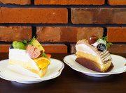レンガ造りでシック。「ル・カフェ・アンドール」でランチ&秋の味覚ケーキ@浄心