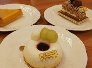 ケーキ屋さんなのにゆったりカフェで味わえる!「カフェパティスリー ブーレ ファリネ」@宝塚・山本