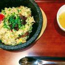 7月イオンモール熱田にオープン「石焼牛肉炒飯 柿安」 店名の石焼牛肉炒飯を食す!