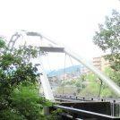 釜の渕公園内のもう一つの橋 柳淵(えん)橋を渡ってみる