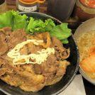 炭火で焼いた牛肉が、すぐランチに!肉のヤマキ商店@府中