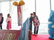 来場者1000万人突破!大阪・あべの「ハルカス300」展望台!記念キャンペーンの発表も