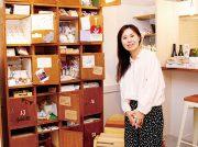 勝川にオープンした雑貨店「POT STUDIO」。ハンドメイド品をレンタルロッカーで委託販売