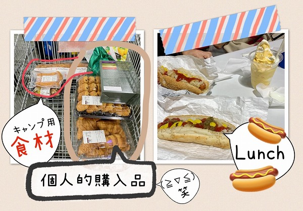 Costcoで購入品&lunch