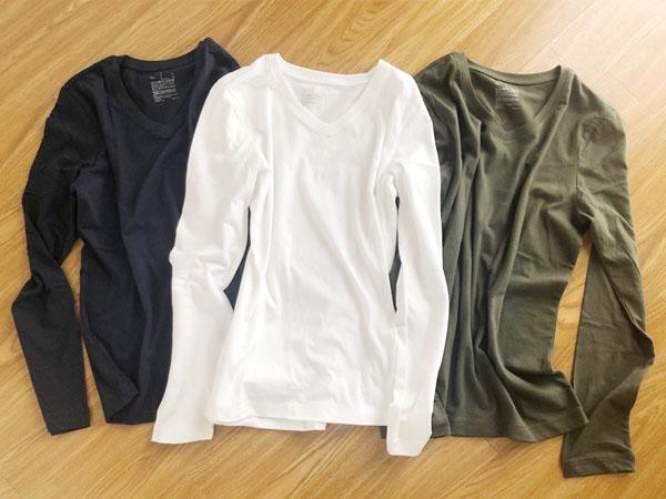 【無印良品】10/15まで「いっしょ割」20%オフ!使える長袖Tシャツ