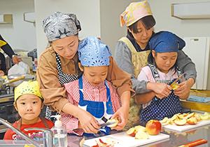 食品ロス削減親子料理教室-仙台市