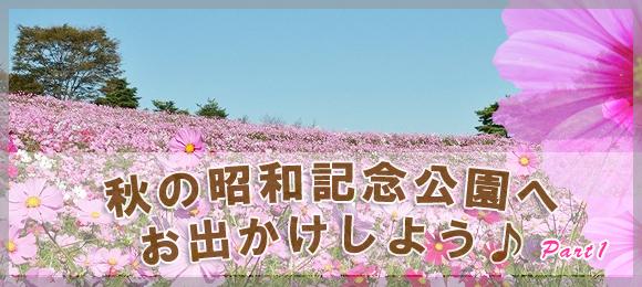 「国営 昭和記念公園」2019年秋のイベント特集♪Part1♪