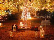 ランタンの灯りが美しい!【仙台ロイヤルパークホテル】のイルミネーション