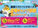 福岡ソフトバンクホークス宮崎キャンプ見学ツアー、オリジナルグッズが当たる!