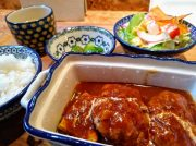 自家製ハンバーグがふわっと柔らか♪箕面「グロウカフェ」でおいしいカフェごはん♪