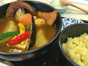 【泉区館】毎日でも食べたい!だし香る、野菜たっぷり!スープカリー