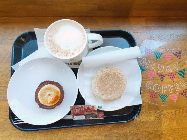 【スタバ】ホリデープレゼント第1弾!スターバックス丸小皿は、大人カラーに♪